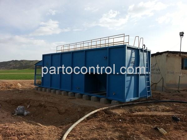 تصفیه فاضلاب بهداشتی انسانی پروژه دانشگاه آزاد یاسوج Yasuj Sanitary Wastewater Treatment Package - پروژه تصفیه فاضلاب بهداشتی انسانی