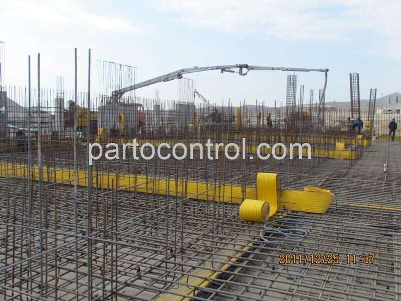 تولید تصفیه خانه بتنی فاضلاب شهرک صنعتی صنایع دریایی Concrete Treatment Plant Marine Industrial Town - پروژه تصفیه خانه بتنی فاضلاب