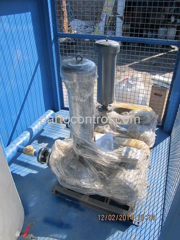 تولید تصفیه فاضلاب بهداشتی انسانی دانشگاه آزاد خمین Sanitary Wastewater Treatment Package Khomein - پروژه تصفیه فاضلاب بهداشتی انسانی