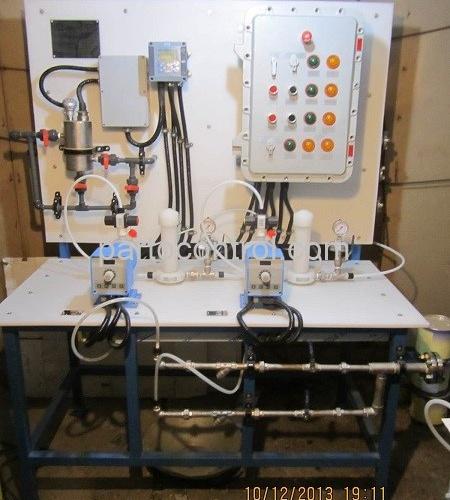 تولید و نصب دستگاه آب شیرین کن پالایشگاه تهران Reverse Osmosis Tehran Refinery 450x500 - پروژه پکیج تزریق مواد شمیایی