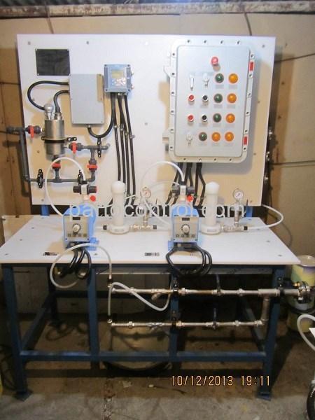 تولید و نصب دستگاه آب شیرین کن پالایشگاه تهران Reverse Osmosis Tehran Refinery - پروژه پکیج تزریق مواد شمیایی