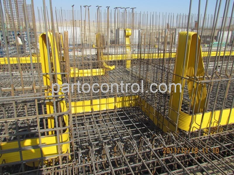 ساخت تصفیه خانه بتنی فاضلاب شهرک صنعتی صنایع دریایی Concrete Treatment Plant Marine Industrial Town - پروژه تصفیه خانه بتنی فاضلاب