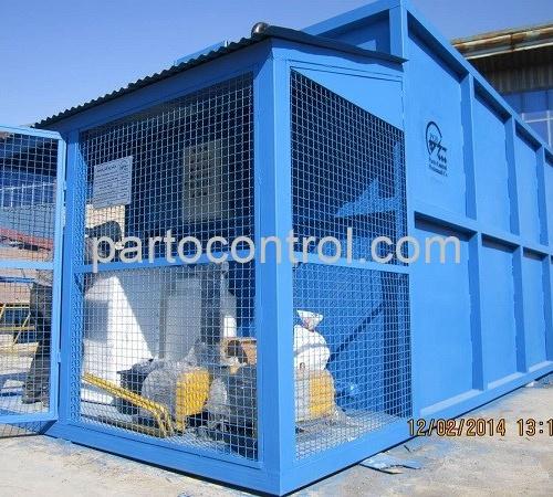 ساخت تصفیه فاضلاب بهداشتی انسانی دانشگاه آزاد خمین Sanitary Wastewater Treatment Package Khomein 500x450 - پروژه تصفیه فاضلاب بهداشتی انسانی