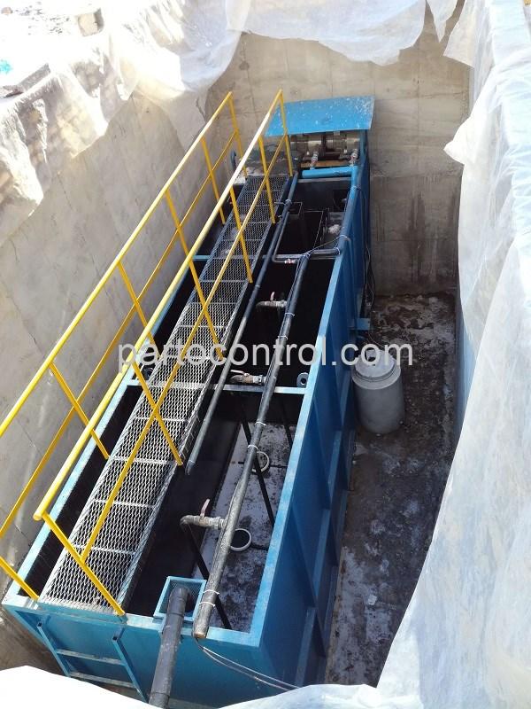ساخت و راه اندازی تصفیه فاضلاب بهداشتی انسانی هتل گچسر Gachsar Sanitary Wastewater Treatment Package - پروژه تصفیه فاضلاب بهداشتی انسانی