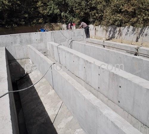 نصب تصفیه خانه بتنی فاضلاب کاله Kaleh concrete wastewater treatment plant 500x450 - پروژه تصفیه خانه بتنی فاضلاب