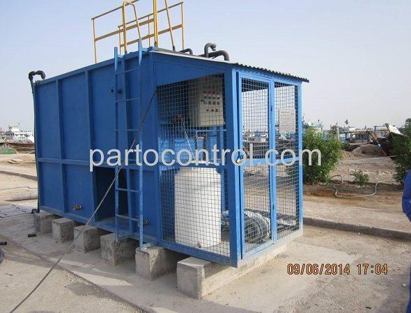نصب تصفیه فاضلاب کارخانجات کاغذ سازی آبادان - Paper-making sewage treatment plant