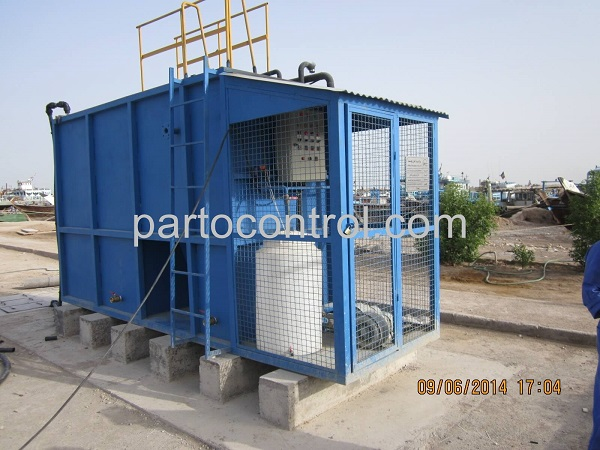 نصب تصفیه فاضلاب کارخانجات کاغذ سازی آبادان Paper making sewage treatment plant - پروژه ها
