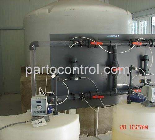 پکیج تزریق مواد شمیایی آبرسانی جنوب تهران Chemical Injection Package 500x450 - پروژه پکیج تزریق مواد شمیایی