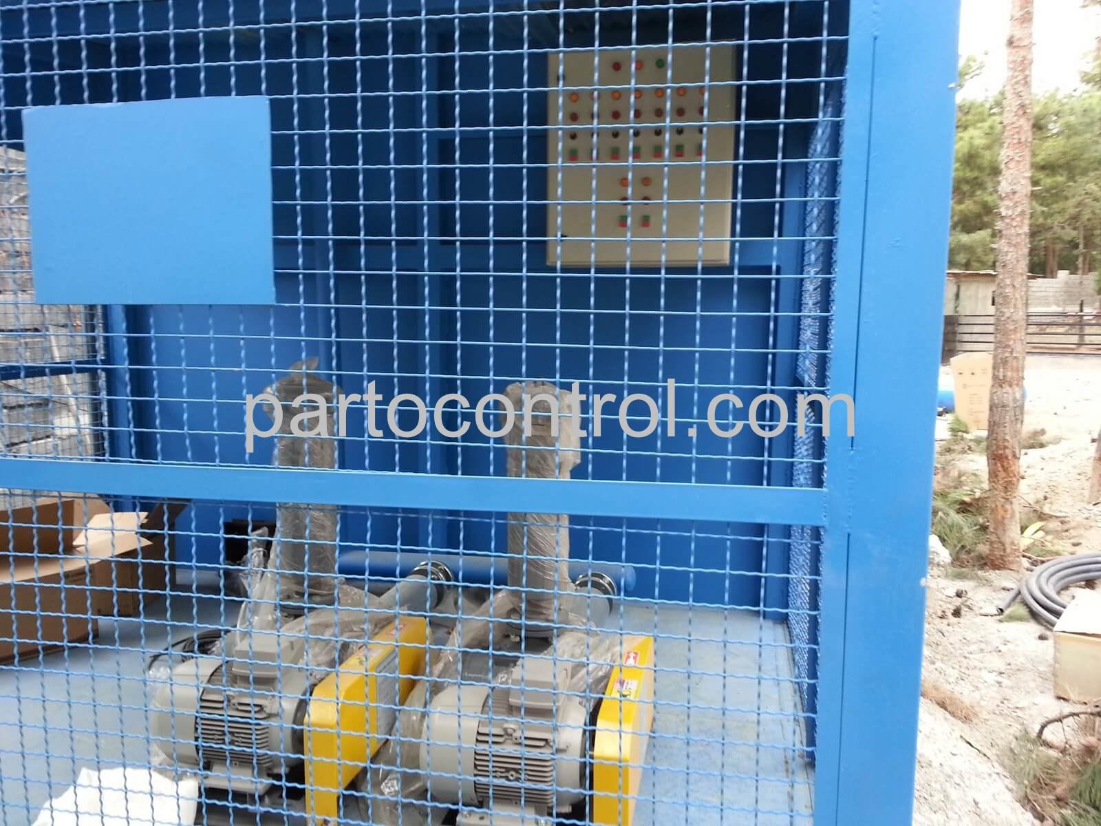 پکیج تصفیه فاضلاب کشتارگاه2Slaughterhouse wastewater treatment package - پروژه تصفیه فاضلاب کشتارگاه