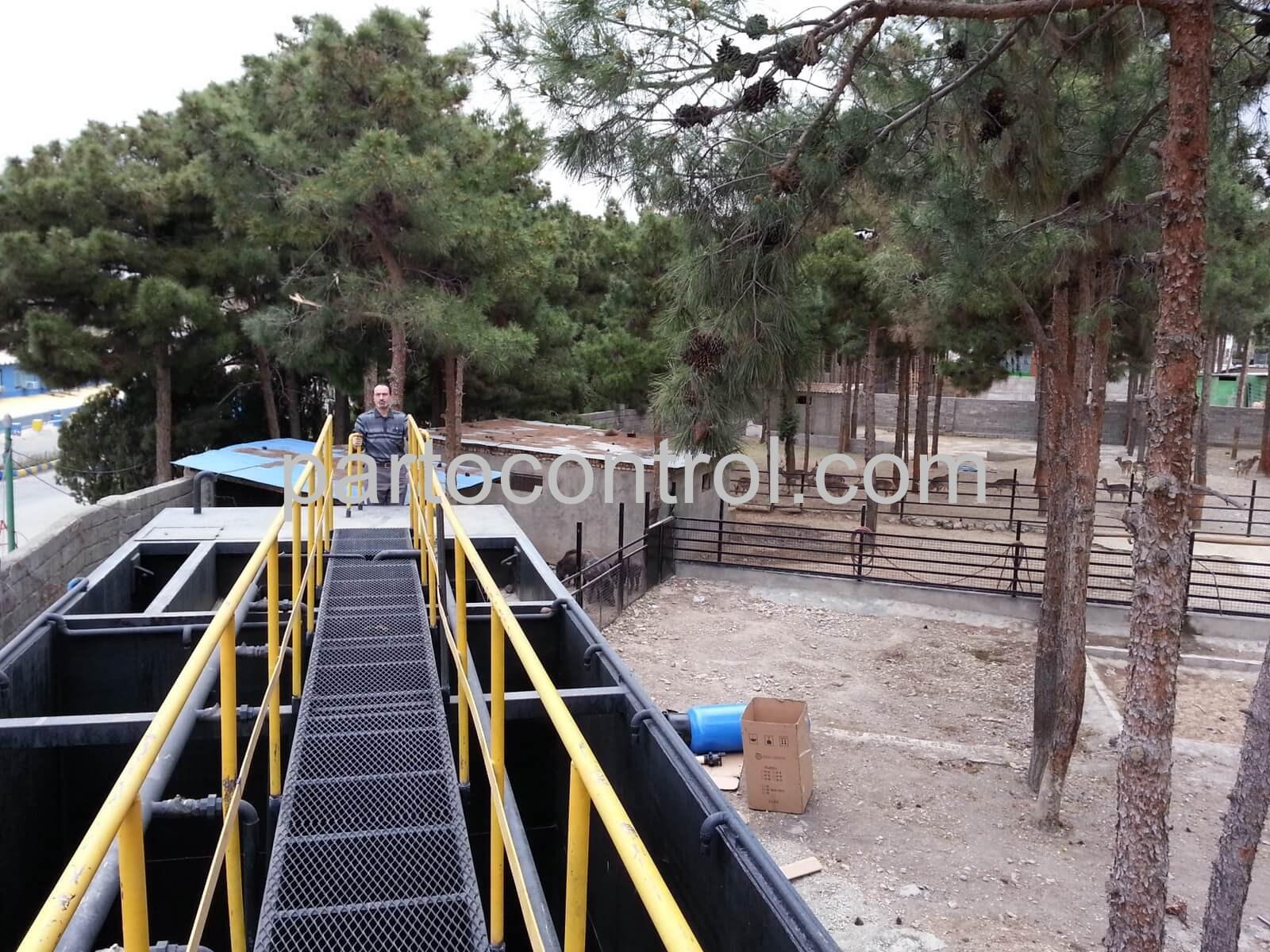 پکیج تصفیه فاضلاب کشتارگاه4Slaughterhouse wastewater treatment package - پروژه تصفیه فاضلاب کشتارگاه