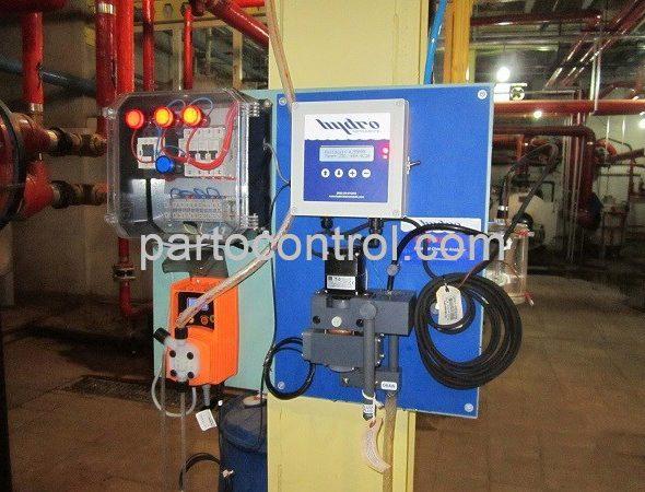نصب دستگاه انالایزر آنلاین نیروگاه طرشت- tarasht online analyzer