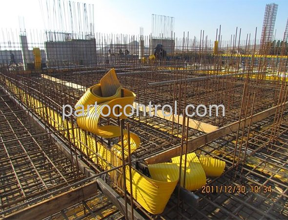 تصفیه خانه بتنی فاضلاب پروژه شهرک صنعتی صنایع دریایی - Concrete Treatment Plant Marine Industrial Town