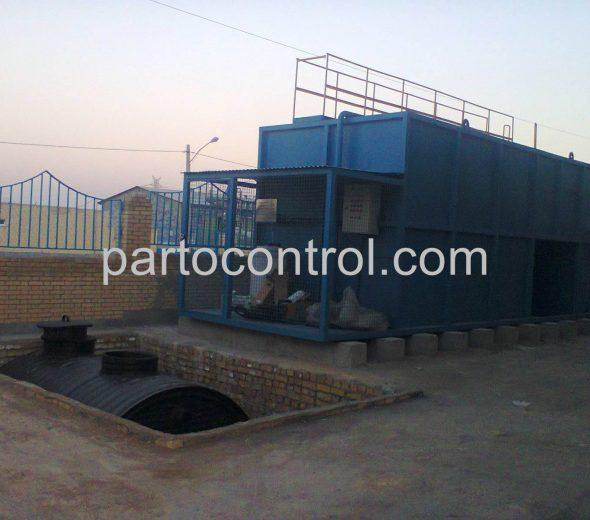 Carwash Sewage Treatment Packageتصفیه فاضلاب کارواش پلیمر گلپایگان3