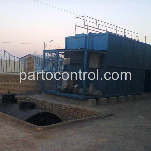 Carwash Sewage Treatment Packageتصفیه فاضلاب کارواش پلیمر گلپایگان3 600x600 - پروژه ها