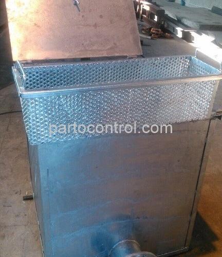 Dirt stuck دستگاه آشغالگیر بیمارستان طالقانی 432x500 - پروژه آشغالگیر