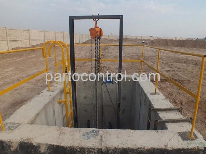 Dirt stuck دستگاه آشغالگیر پروژه مسکن مهر - پروژه آشغالگیر