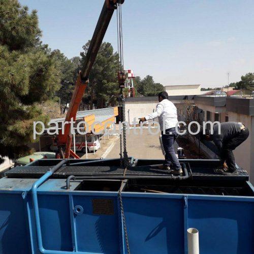 Hospital Sewage Treatmentتصفیه فاضلاب بیمارستانی بیمارستان طالقانی4 500x500 - پروژه تصفیه فاضلاب بیمارستانی