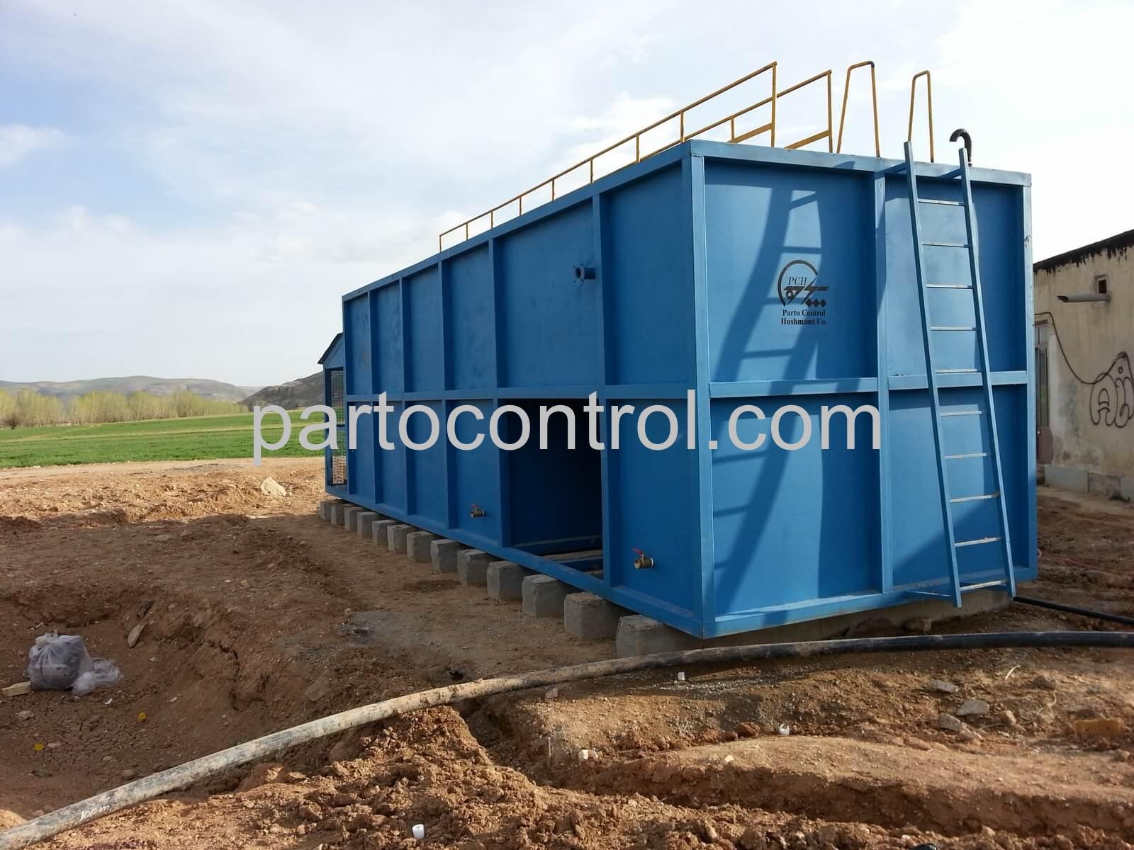 Rug Sewage Treatment Packageتصفیه فاضلاب کارگاه قالیشویی خمسه 1 - پروژه تصفیه فاضلاب کارگاه های قالیشویی