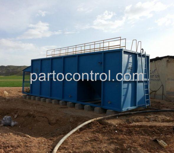 Rug Sewage Treatment Packageتصفیه فاضلاب کارگاه قالیشویی خمسه 2