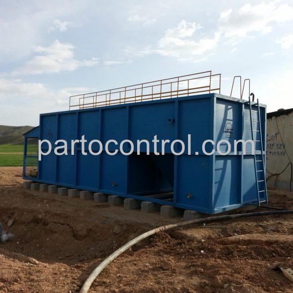 Rug Sewage Treatment Packageتصفیه فاضلاب کارگاه قالیشویی خمسه 2 600x600 - پروژه ها