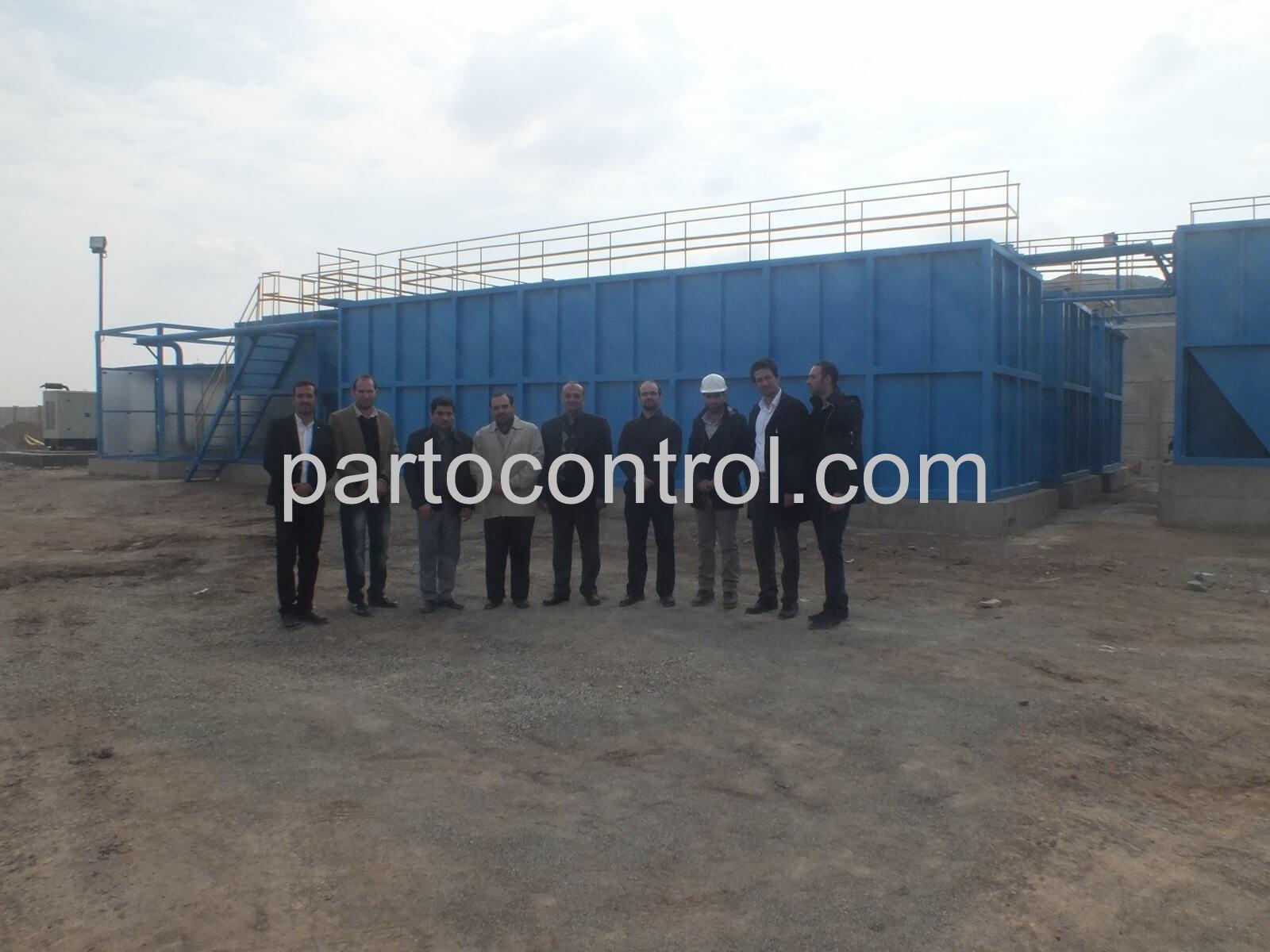 Urban Wastewater Treatment Packageپکیج تصفیه فاضلاب شهری آب و فاضلاب صفادشت2 - پروژه تصفیه فاضلاب شهری