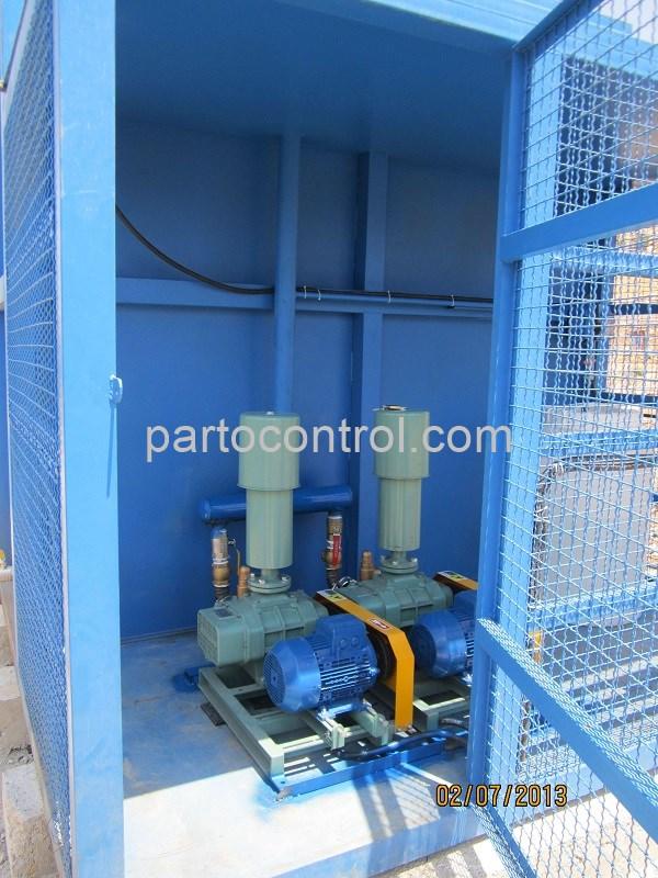 Yasuj Sanitary Wastewater Treatment Packageپکیج تصفیه فاضلاب بهداشتی یاسوج2 - پروژه تصفیه فاضلاب بهداشتی انسانی