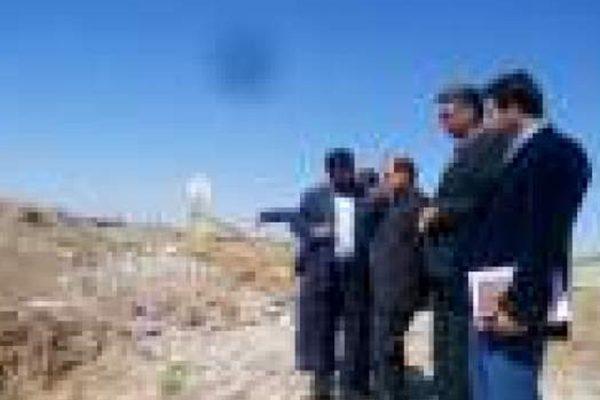 بازدید فرماندار از پروژه جمع آوری شبکه فاضلاب شهر تربت جام