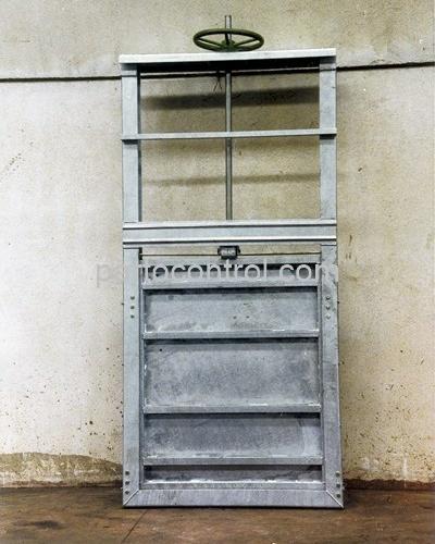 دریچه کشویی3 400x500 - پروژه دریچه آب بند