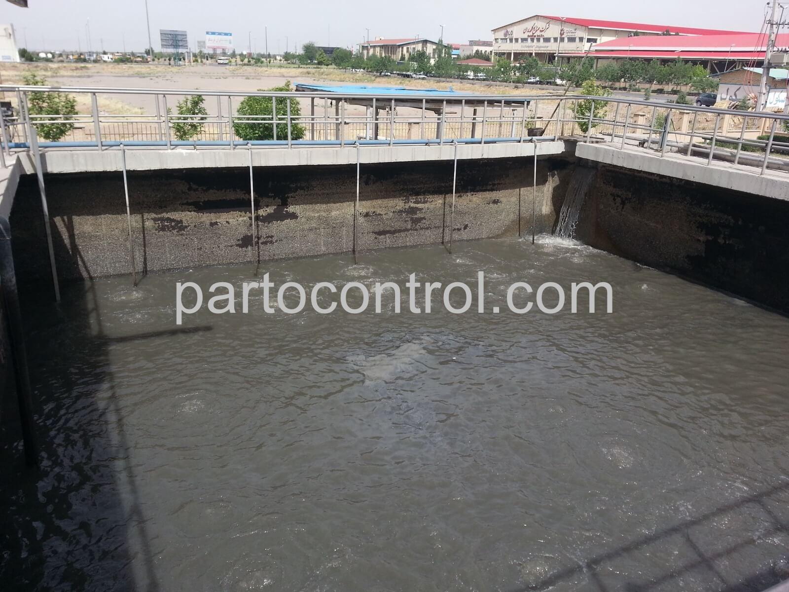 Concrete tanks in Caspian Townمخازن بتنی شهرک کاسپین 3 - پروژه مخازن بتنی