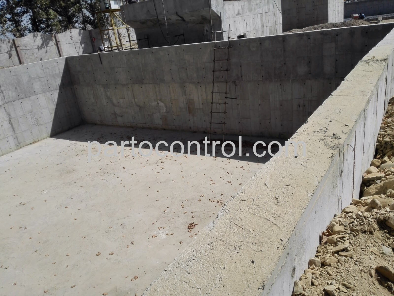 Concrete tanks in Kaleh مخازن بتنی کاله 2 - پروژه مخازن بتنی