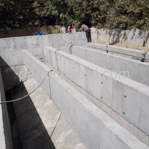 Concrete tanks in Kaleh مخازن بتنی کاله 4 500x500 - پروژه مخازن بتنی