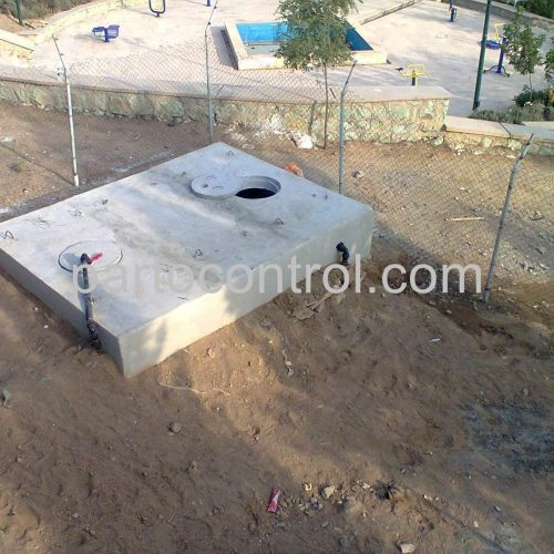 Concrete tanks of the municipality of Pardisمخازن بتنی شهرداری پردیس 4 500x500 - پروژه مخازن بتنی