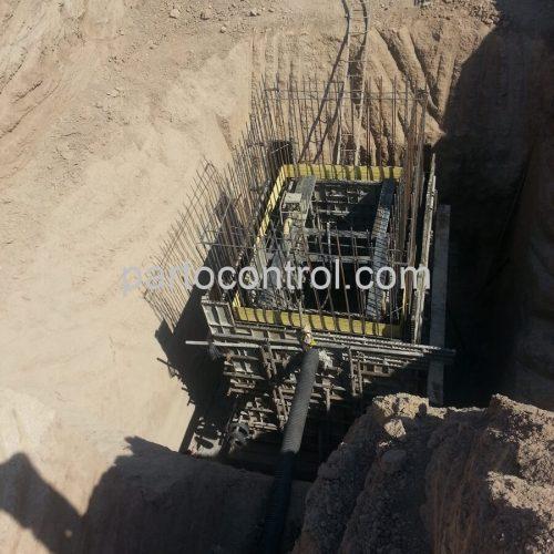 Concrete tanks of water and sewage of Safadashtمخازن بتنی آب و فاضلاب صفادشت 1 500x500 - پروژه مخازن بتنی