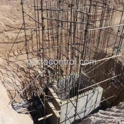 Concrete tanks of water and sewage of Safadashtمخازن بتنی آب و فاضلاب صفادشت 2 500x500 - پروژه مخازن بتنی