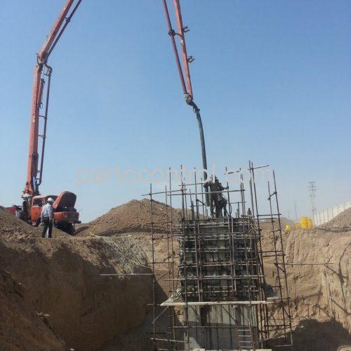 Concrete tanks of water and sewage of Safadashtمخازن بتنی آب و فاضلاب صفادشت 3 500x500 - پروژه مخازن بتنی