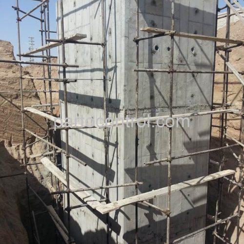 Concrete tanks of water and sewage of Safadashtمخازن بتنی آب و فاضلاب صفادشت 4 500x500 - پروژه مخازن بتنی