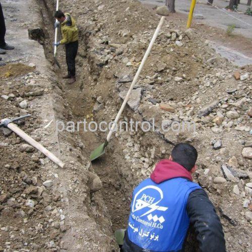 Eram Park Sewage Collection Networkشبکه جمع اوری فاضلاب باغ وحش پارک ارم2 500x500 - پروژه شبکه جمع آوری فاضلاب