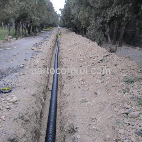 Eram Park Sewage Collection Networkشبکه جمع اوری فاضلاب باغ وحش پارک ارم4 500x500 - پروژه شبکه جمع آوری فاضلاب