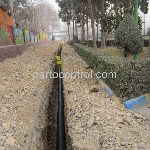 Eram Park Sewage Collection Networkشبکه جمع اوری فاضلاب باغ وحش پارک ارم8 500x500 - پروژه شبکه جمع آوری فاضلاب