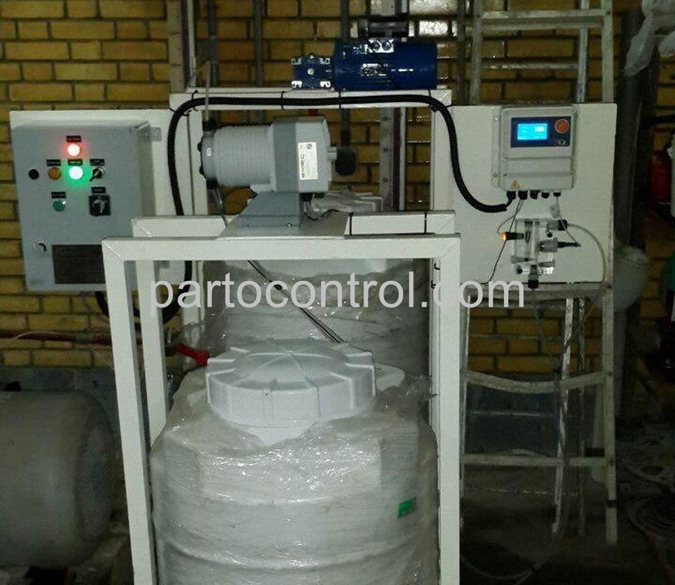 Liquid chlorin of the Abadan Ports Authorityکلرزن مایع سازمان بنادر آبادان 2 - پروژه کلرزن مایع