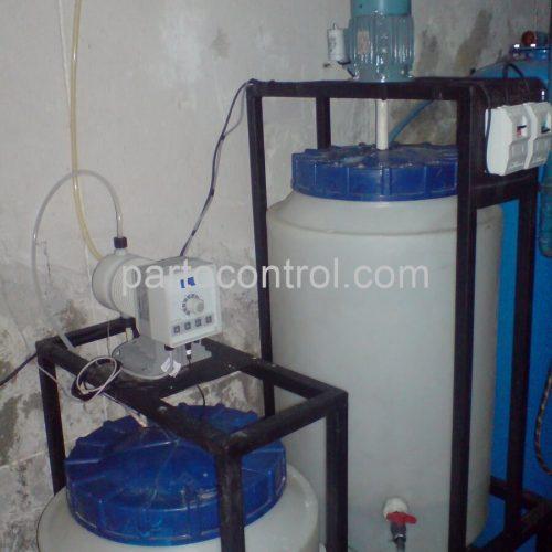 Liquid chlorine tejarat bankکلرزن مایع استخر بانک تجارت2 500x500 - پروژه کلرزن مایع