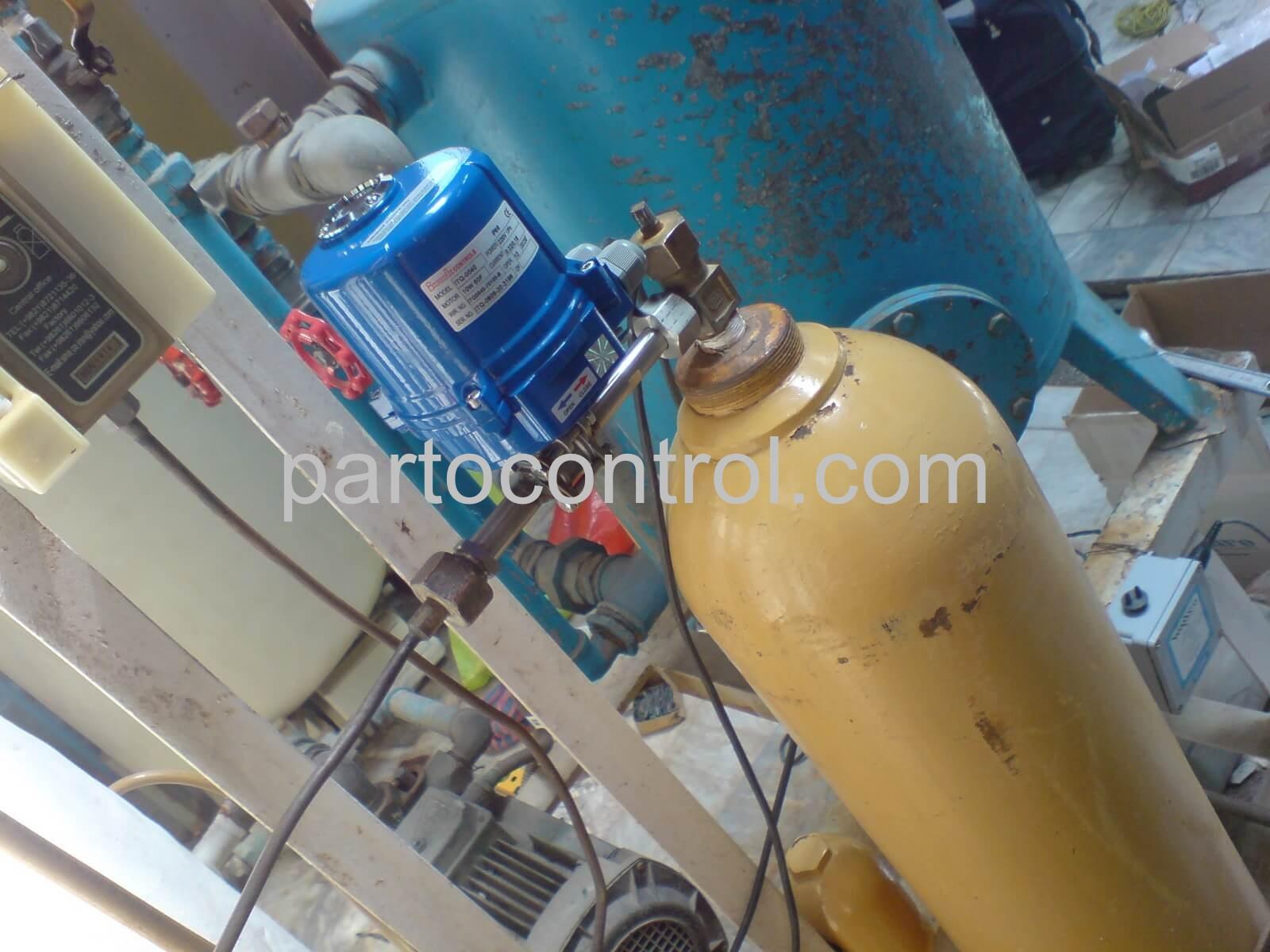 Mashhad gas chlorineکلرزن گازی مشهد - پروژه کلرزن گازی