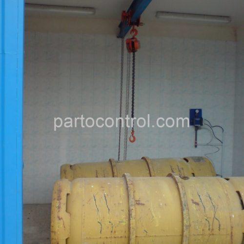 Shirgah Gas Chlorinکلرزنگازی شیرگاه6 500x500 - پروژه کلرزن گازی
