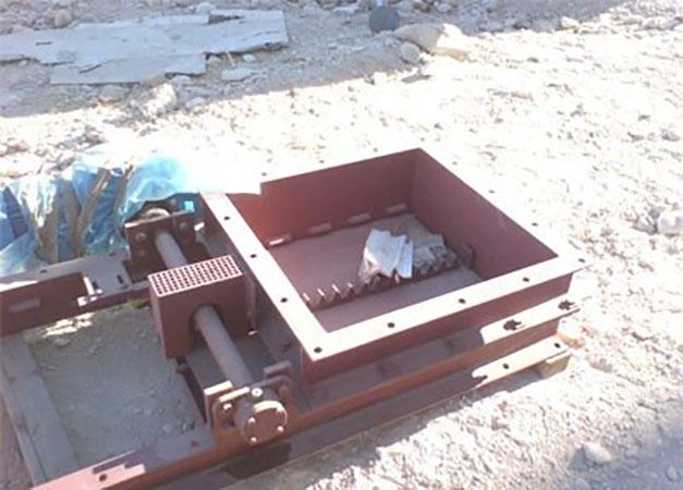 دریچه آب بند کشویی 1 - آشنایی با انواع دریچه آب بند کشویی در پکیج تصفیه فاضلاب