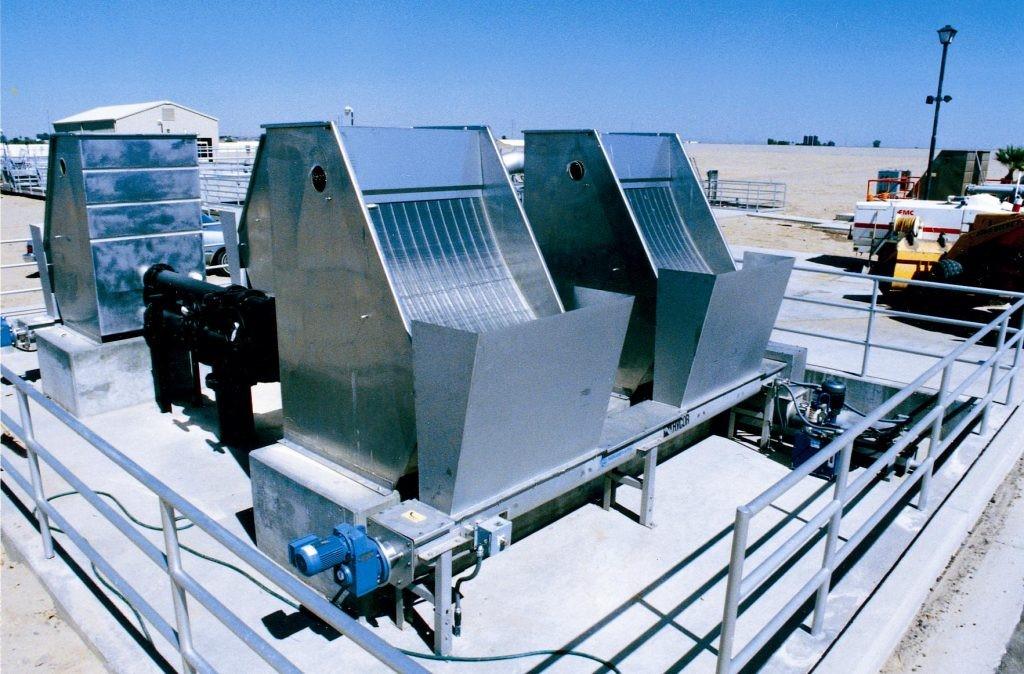 تصفیه فیزیکی با استفاده از انواع آشغالگیر3 - تصفیه فیزیکی با استفاده از انواع آشغالگیر