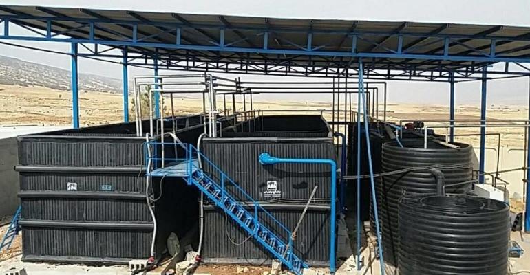 بهترین محل جهت نصب آشغالگیر و چربیگیر در پکیج تصفیه فاضلاب کدام قسمت است؟3